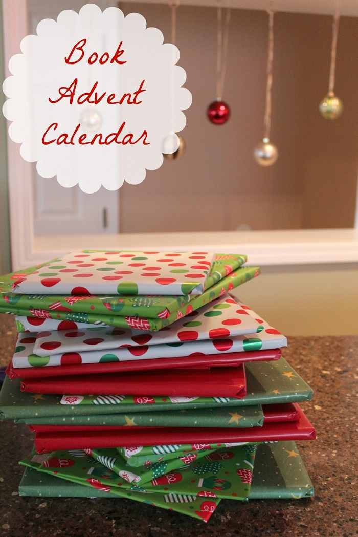 Countdown Book Style: Advent Calendar